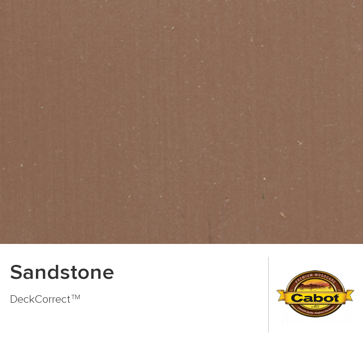 sandstone paint colorColor Chip  Sandstone  Cabot