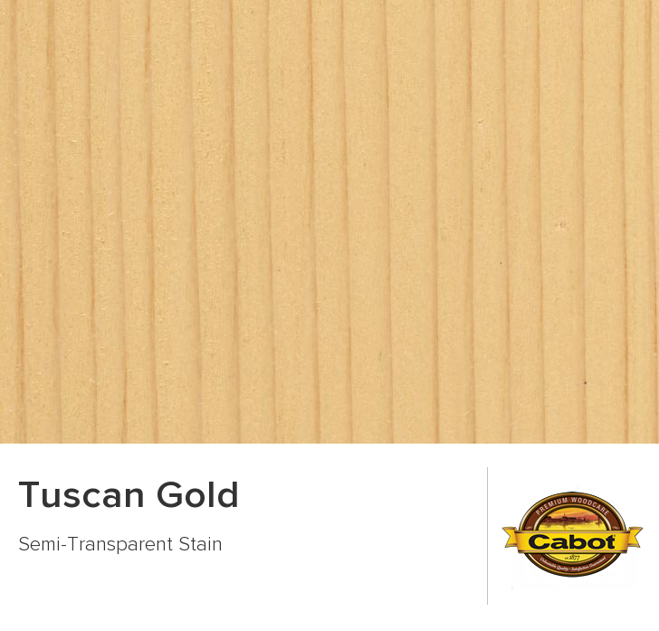 Color Chip Tuscan Gold Cabot
